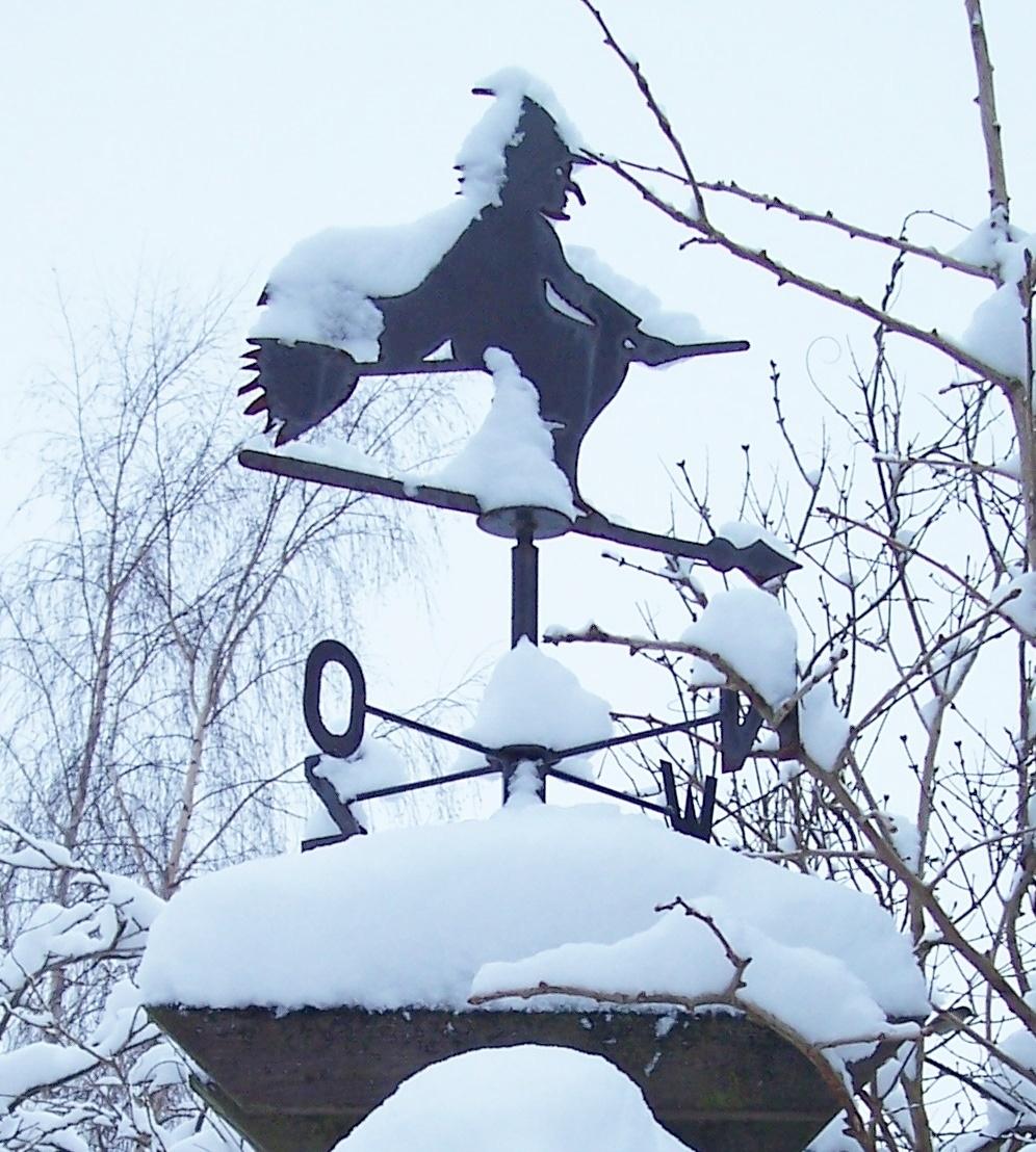 Heksje in de sneeuw Miep Bos