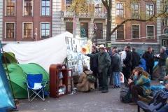Occupy Amsterdam foto Miep Bos