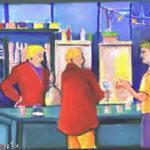 Noordwijk schilderfestival bar Miep Bos