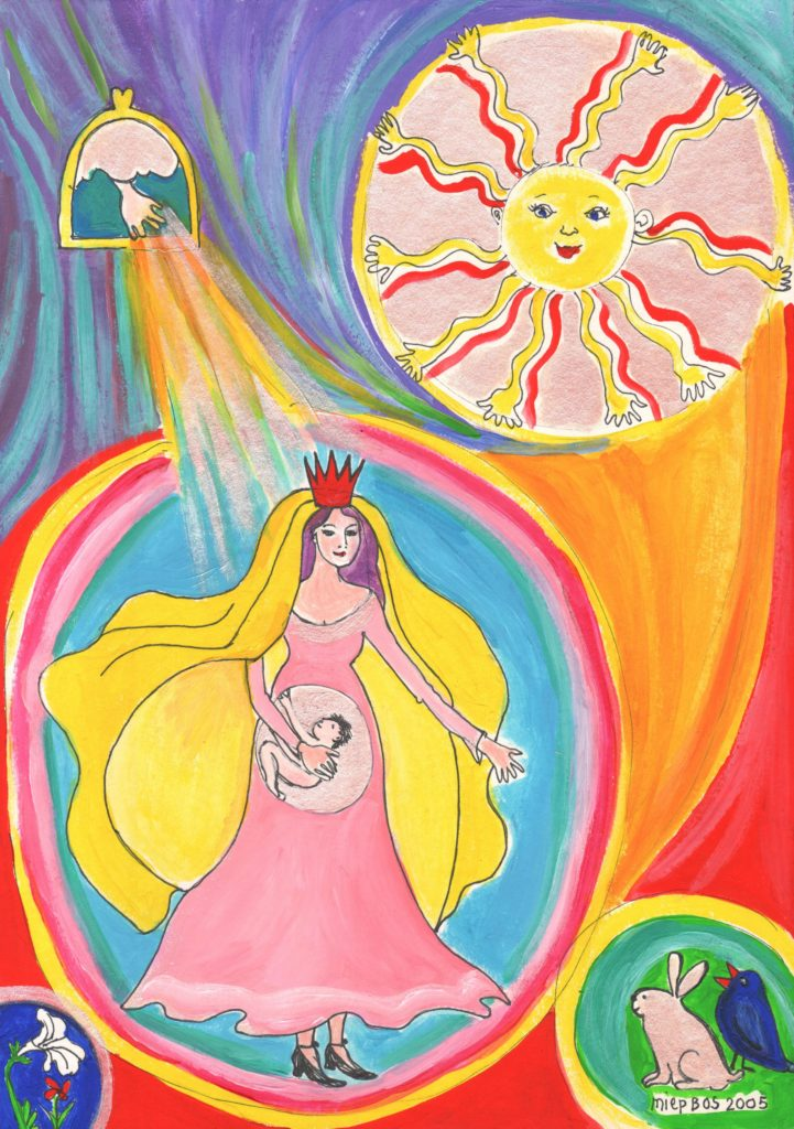 De Vrouw staat aan de top van de Schepping 2005 Miep Bos