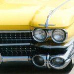 Gele Cadillac Miep Bos